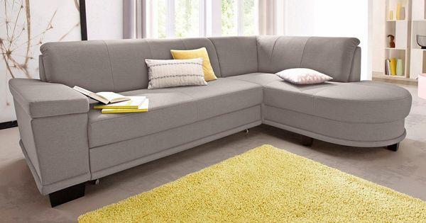 Ecksofa Mit Federkern Wahlweise Mit Bettfunktion Ecksofas Trendmanufaktur Couch Mobel