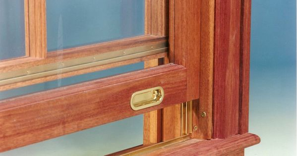 Solid Extruded Bronze Interlocking Weatherstripping At Meeting Rail Of Upper Sash And At Jamb And Sill Solid Brass Flush Sash Wood Windows Custom Wood Windows