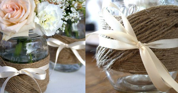 Timeless Wedding: Mason Jars - By Earth Friendly Weddings
