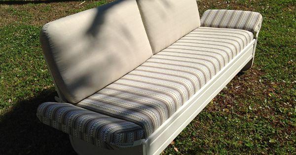 Barcalo Sleeper Glider After Restoration Vintage Porch