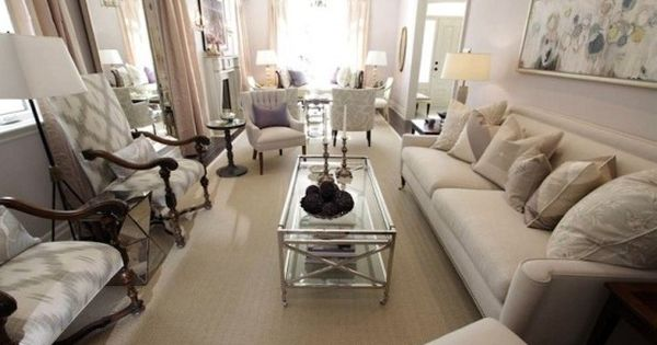 Using the entire room also glass coffee table is less for Couch and loveseat arrangement ideas