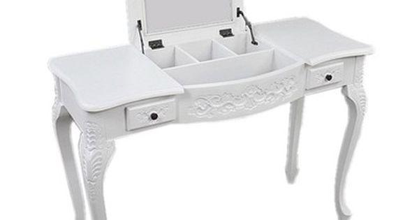 Nowa Biala Klasyczna Toaletka Biurko Lustro 6569456387 Oficjalne Archiwum Allegro Furniture Home Decor Decor