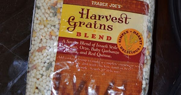 trader joe 39 s harvest grains blend cook with a packet of lipton dry onion soup mix delicious. Black Bedroom Furniture Sets. Home Design Ideas