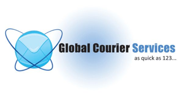 Global Courier Service Service Logo Industry Logo Courier Service