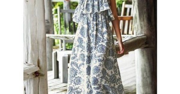 Long dress for getting ready outfit