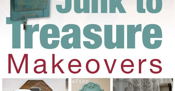 39 Fabulous Junk to Farmhouse Styled Treasure Makeovers! I like mirror in
