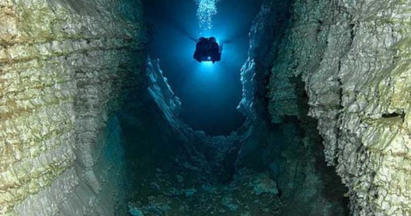 Underwater Cave 33 To Scary