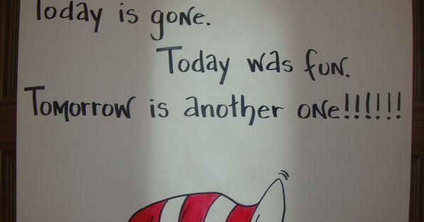 Goodbye Poster Dr Seuss Birthday Party Pinterest
