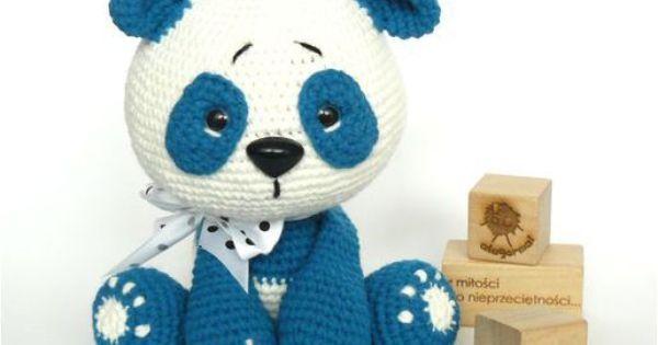 Amigurumi Little Bigfoot Panda : Big_fit_pandzior_82 hra?ky Pinterest Ales and Pandas
