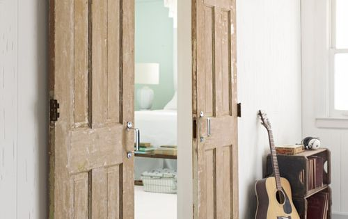 Sliding Barn Doors - think outside the box - how about these