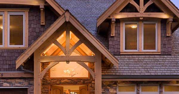 Compact hybrid timber frame home design photos timber Timber frame hybrid house plans