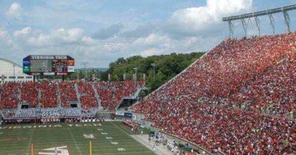 Virginia Tech Football Stadium Google Search Virginia Tech Football Football Stadiums Blacksburg
