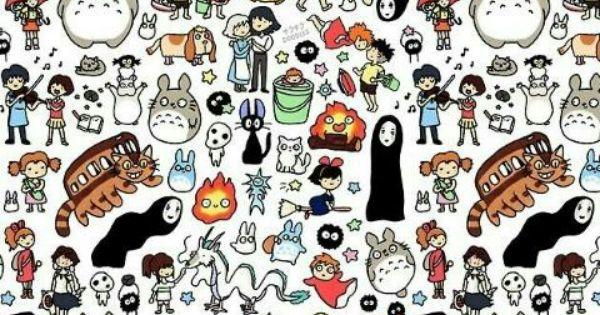 Miyazaki's collage | Japan | Pinterest | Collage and ...