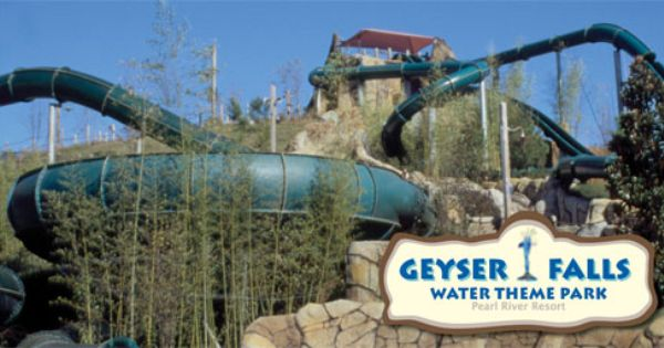 geyser falls water theme park choctaw  ms i just went