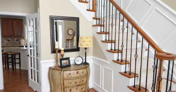 Foyer paint sw urban putty master bedroom pinterest foyer paint foyers and house - Sw urban putty ...