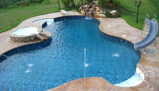 Inground Salt Water Pools Gunite Pools Fiberglass Pools Liners Covers Renovation Photo Gallery