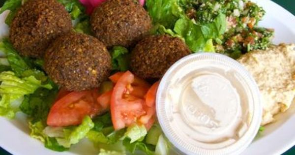 Falafel With Hummus Recipe Recipes Palestinian Food Egyptian Food
