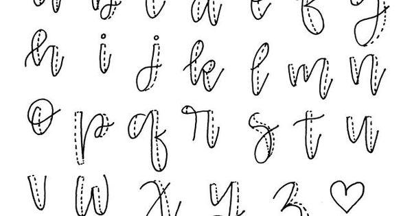 How To Fake Calligraphy Projects To Try Pinterest