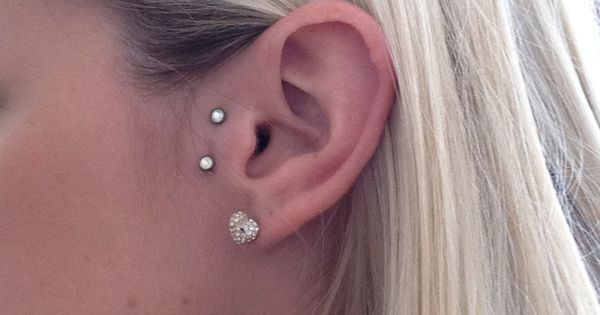how to clean vertical tragus piercing