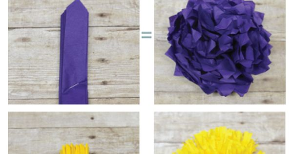 How to Make Paper Flowers Tutorial from Elaine Tricoli's Eat Grandpa {Cori