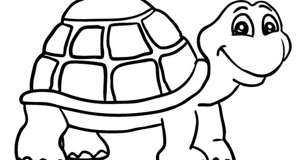 shapes turtle coloring pages - photo#39