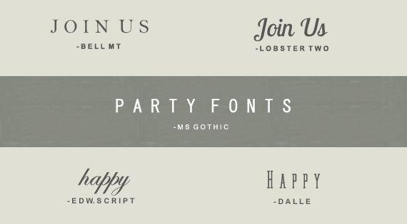 25 Free Fonts. Best fonts!