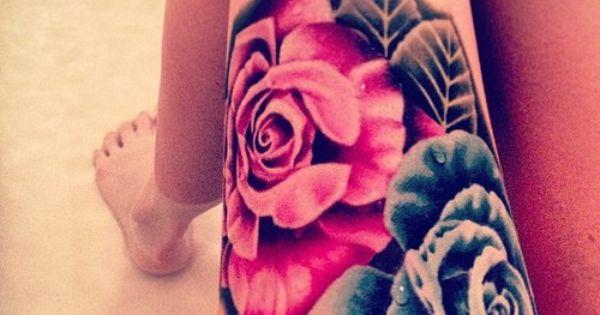 thigh tattoo patterns tattoo design