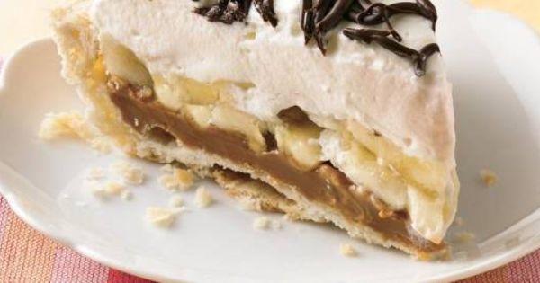 No Bake: Dulce de Leche Banana Creme Pie | Desserts - Cookies, Cakes ...