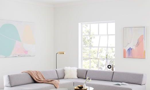Tillary 6 Piece Sectional Bean Bag Chair Wayfair Living Room