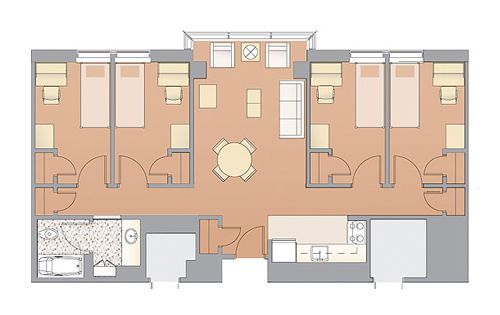 Lafayette One Bedroom Apartments