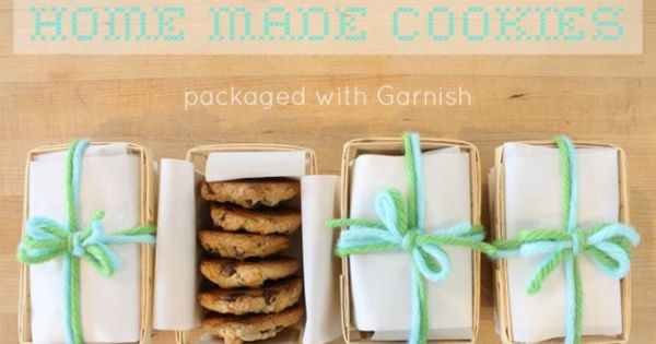Wrapping my baked gifts note to self great link for Homemade baked goods gift basket ideas