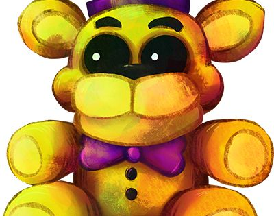 Five Nights at Freddy's FNaF4 - Plush Fredbear by kaizerin on DeviantArt