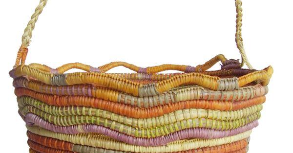 Basket Weaving Aboriginal : Aboriginal basket weaving artistry in craftwork
