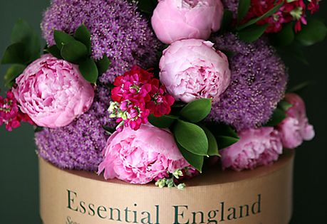 Fresh flowers from an English garden? Yes please.