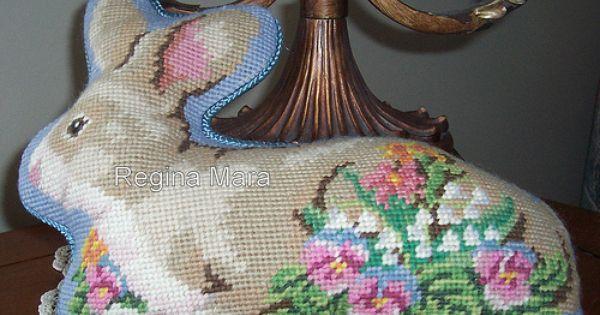 Regina Mara Barteldes | Pinterest | Needlepoint, Easter Bunny and