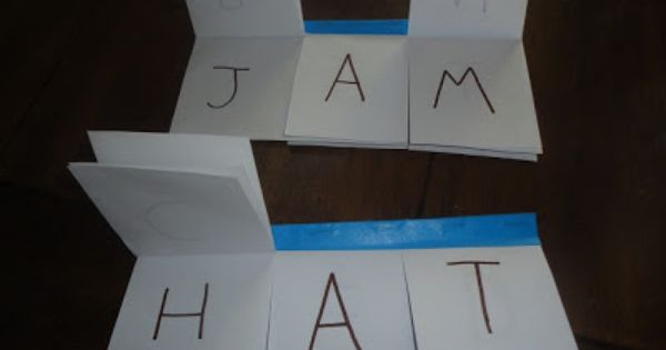 Word families? CVC Word Flip Books: 10 Games for Beginning to Advanced