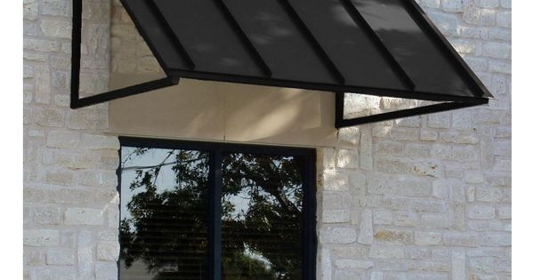 Beauty Mark 3 Ft Houstonian Metal Standing Seam Awning