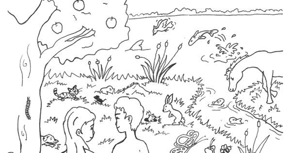 creation christian free coloring pages - photo#8