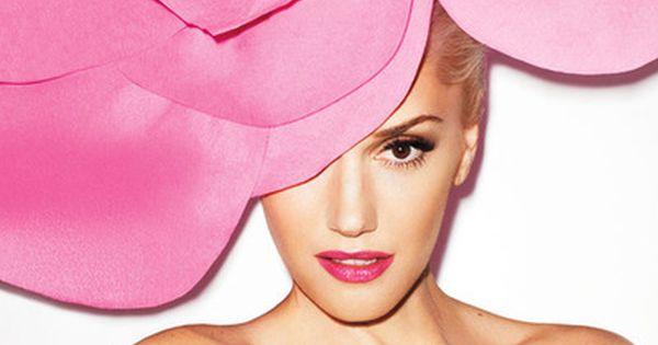Pink Flower Hat ~ Gwen Stefani