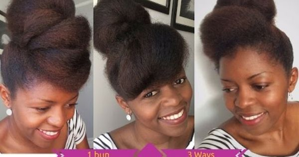 how to make hair styles how to wear 1 bun 3ways hair misst1806 4747