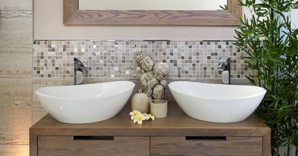 badezimmer trend 2014 naturmaterialien holz pflanzen deko pinterest badezimmer trends. Black Bedroom Furniture Sets. Home Design Ideas