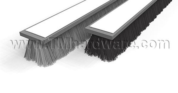 Adhesive Weatherstrip 270 W Pile Brush For Glass Sliding Doors 25 Depth Sliding Glass Door Glass Door Weatherstripping