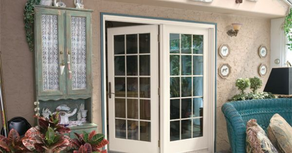 Anderson windows and doors hinged french doors from for Anderson windows and doors