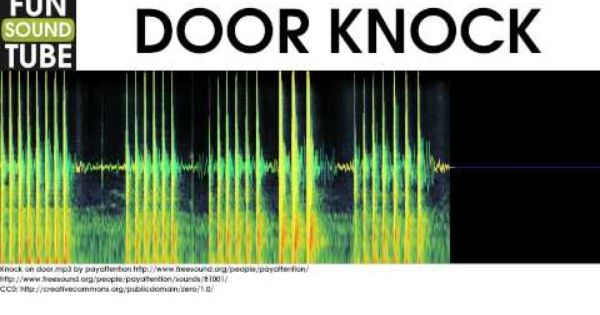 Door Knock Sound Effect Knock Knock Sound Sound Effects