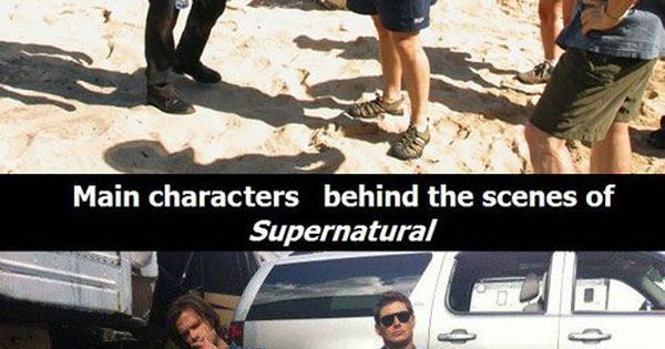 So stressed out! Supernatural - Sam and Dean Winchester hahahaha too funny
