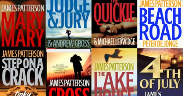 James Patterson Book List Collage Of Books Just Love Film Music Books At Repinned Net