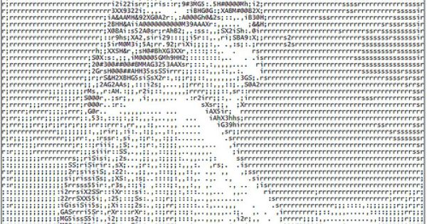how to write ascii code in notepad