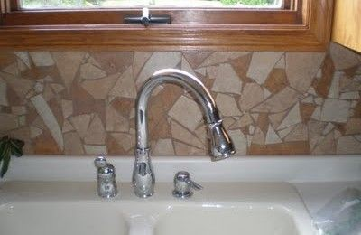 How To Use Broken Tiles To Achieve A Mosaic Back Splash In Your Kitchen Mosaic Backsplash Kitchen Mosaic Backsplash Mosaic Tile Backsplash