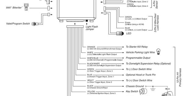 Remote Start Wiring Diagram Awesome In 2020 Viper Car Viper Alarm Car Alarm