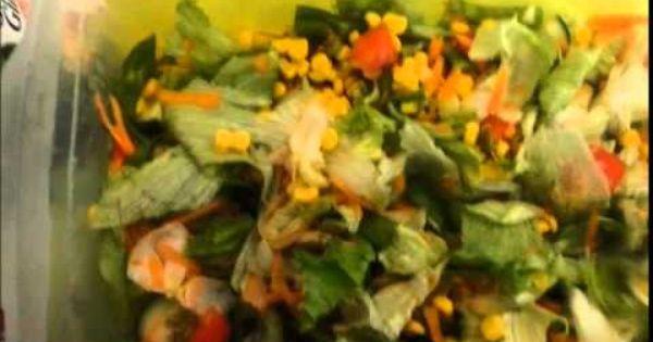 سلطة خضراء صحية Vegetables Painting Corn
